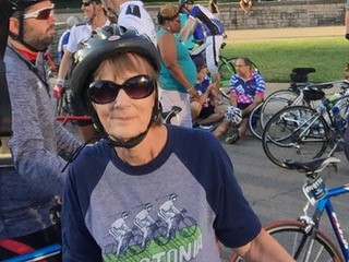 BIKING FOR JOAN